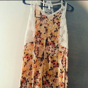 Other - NEw w/tags Strappy kids flowered dress